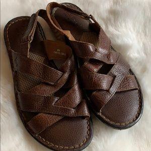 Born Company Leather Sandal